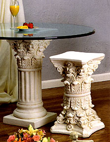 Corinthian Columns As Home Decor